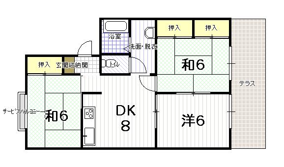 セジュール大田 C棟 (浴室新設)